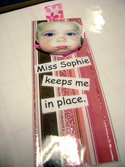 Sophie Bookmark (Front)