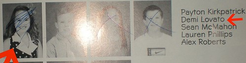 demi lovato yearbook pictures - photo #34