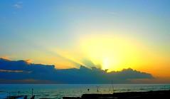 Tramonto sul mare (Sweet witch) Tags: tramonto nuvole mare luci iq ostia sfumature abigfave goldsealofquality betterthangood theperfectphotographer absolutelystunningscapes