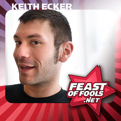 Comedian Keith Ecker on the Feast of Fools podcast