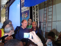 Tim Berners Lee e Gilberto Gil - Campus Party 2009 (Grudaemmim) Tags: galeria gil 2009 gilbertogil comunicação boi laje campusparty cparty timbernerslee agência lambe ourofino gruda grudentos grudaemmim campusparty2009