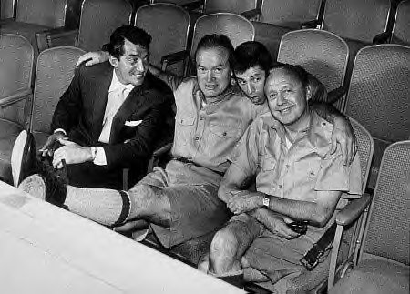 MARTIN, BOB HOPE, LEWIS, JACK BENNY PHOTO+