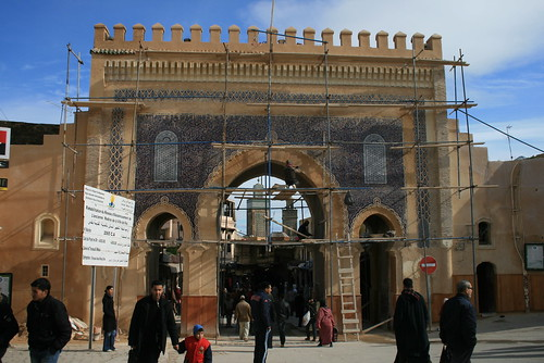 Restoration of a gate in Fes