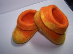 100_1305 (Tanya Semenets) Tags: baby wet boots felting handmade felt noseam