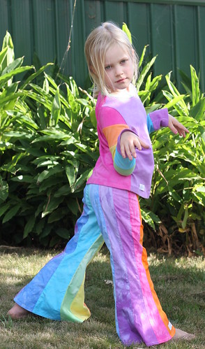 Rainbow Paula Pants & Antonia - side