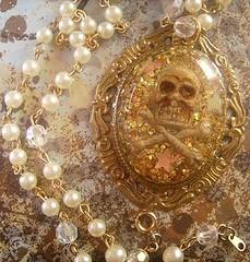 Pirates Gold (MySweetSkull) Tags: skull gold treasure coins pirate fool crossbones