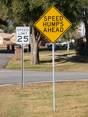 SPEED HUMPS AHEAD