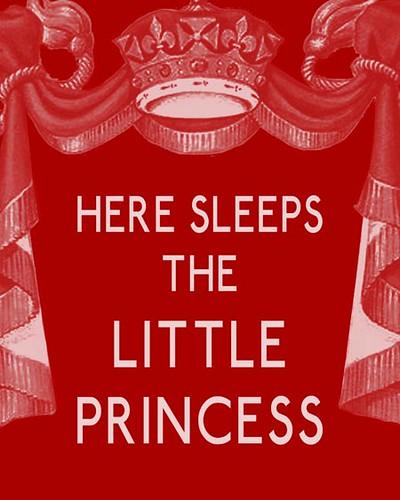 Here Sleeps the Little Princess