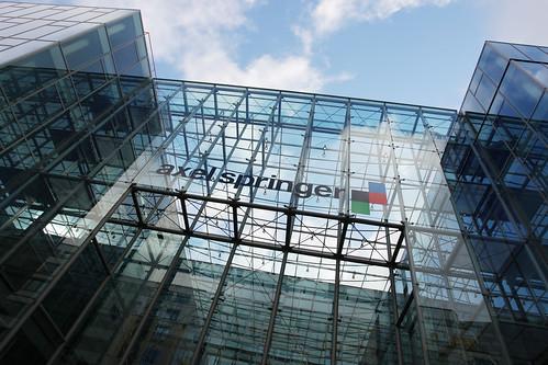 Axel Springer Gebäude Berlin.