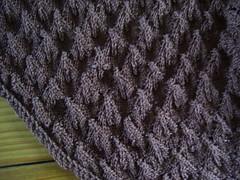 Deb's Leaf shawl