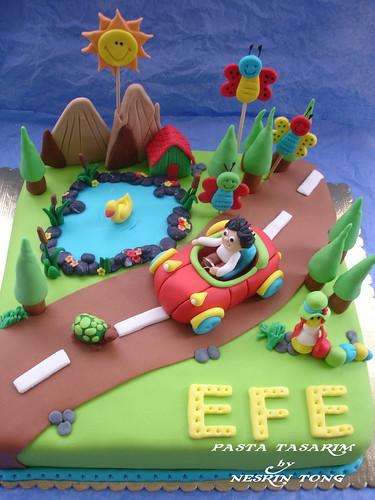 DSC07609-efenin masal dünyası pastası