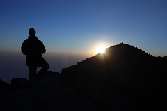 Volcan Tajumulco Summit (13,854ft) (tik_tok) Tags: travel sunset mountain tourism latinamerica silhouette canon rebel 50mm volcano evening climb guatemala hike crater summit 2009 centralamerica xela xsi highaltitude volcan quetzaltenango centroamerica tajumulco elevation40004500m summittajumulco altitude4223m