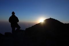 Volcan Tajumulco Summit (13,854ft) (tik_tok) Tags: travel sunset mountain tourism latinamerica silhouette canon rebel 50mm volcano evening climb guatemala hike crater summit 2009 centralamerica xela xsi highaltitude volcan quetzaltenango centroamerica tajumulco elevation40004500m summittajumulco altitude4223m