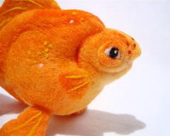 Felt Goldfish 1