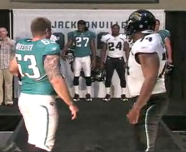 Jags Unveil Crummy New Uni Set  Kids Cry  32deb9c00