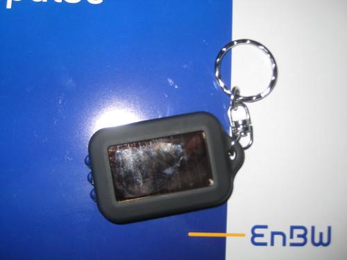 LED-Taschenlampe mit Solarzelle