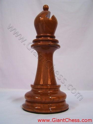 Wooden Bishop Chess Piece   Wooden Chess Manufacturer