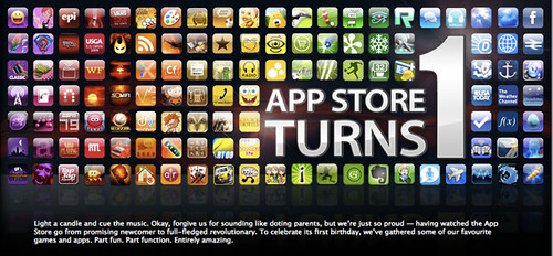 As The App Store Turns 1*