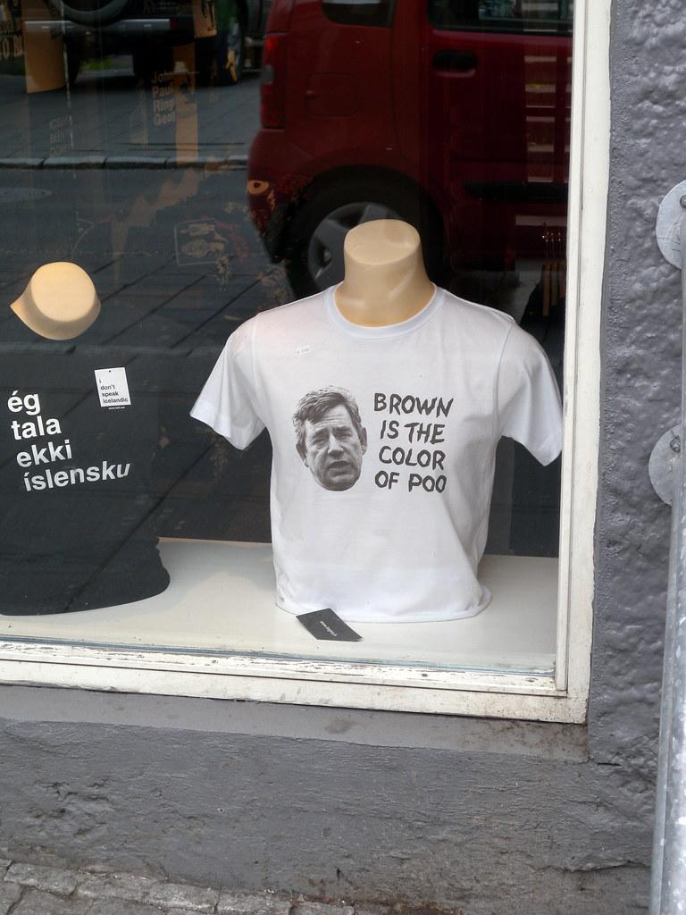 Funny T-Shirts, Reykjavik