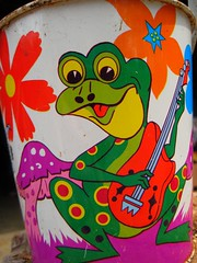 Silly frog #3 (Divine Harvester) Tags: bucket frog psychedelic ohioart
