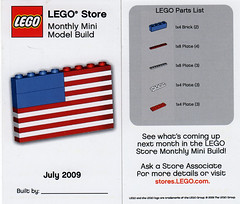 LEGO Store MMMB - July 2009 (US Flag) (TooMuchDew) Tags: holiday lego flag july americanflag fourthofjuly july4th 4thofjuly july4 independenceday redwhiteandblue starsandstripes redwhiteblue legostore oldglory legoimaginationcenter legoinstructions mmmb toomuchdew monthlyminimodelbuild licmoa minimodellbauevent