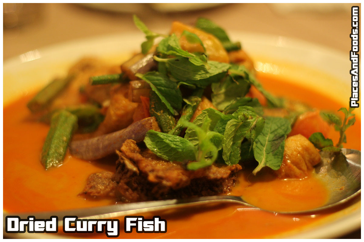 dried curry fish