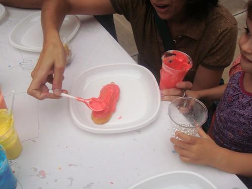 Taller infantil de decoración de pasteles