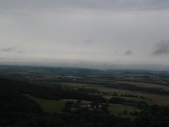 Wolken ber der Hohenloher Ebene (waschen46) Tags: clouds felder fields landschaft badweather vogelperspektive schlechteswetter birdseyeperspective cker sdwestdeutscheschichtstufenlandschaft