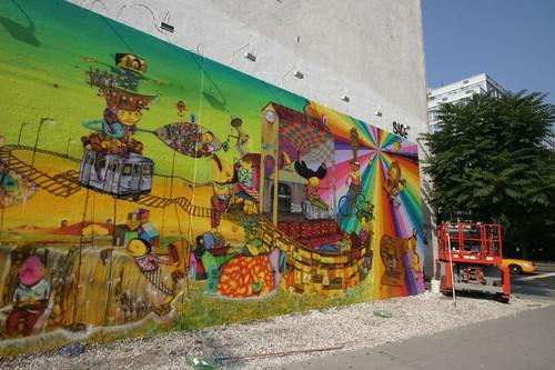Mural, Manhattan.