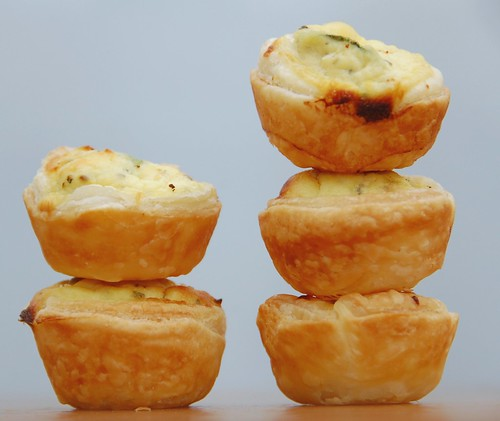 mini quiches zucchni limone menta
