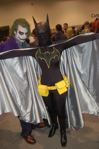 Comic Con 2009: I'm Bat Girl