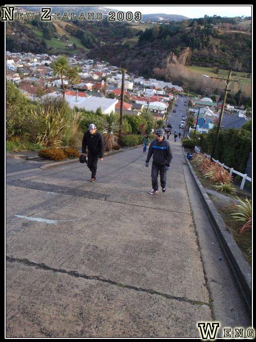 Otago Peninsula, Baldwin Street