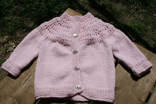 Pink Elephant Sweater