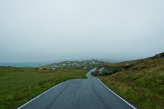 Proof that it's not always sunny, Isle of Eriskay (www.bazpics.com) Tags: road street trip summer vacation cloud mist holiday wet rain dark landscape island scotland scenery tour cloudy scottish august hi