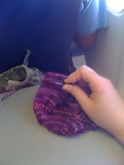 Knitting on the plane