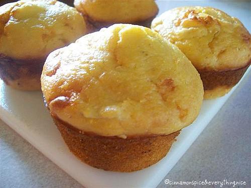 Green Tomato Corn Muffins