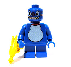 Stitch (Pet Version) (Sir Nadroj) Tags: brick gun ray arms lego arm stitch retro will waterslide custom lilo decals raygun chapman brickarms