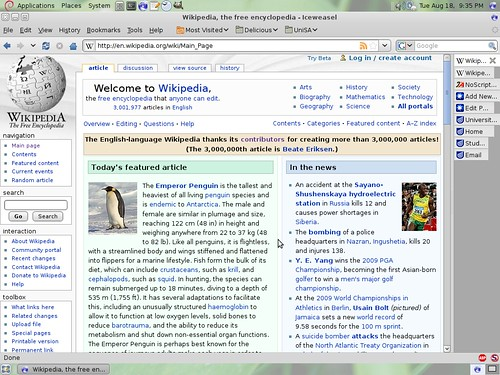 3 million Wikipedia articles!