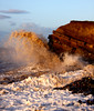 High Tide (MDCPhotographic) Tags: sea beach coast tide wave somerset hightide bristolchannel kilve britishseascapes westsomersetcoast
