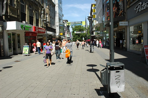 Essen shopping street