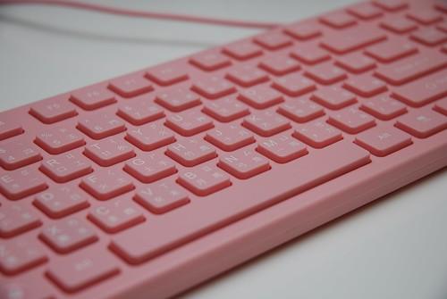 i-rocks KR-6401 粉紅巧克力鍵盤 - 15