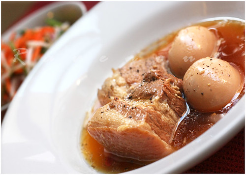 Thit Kho Braised Pork Belly and eggs