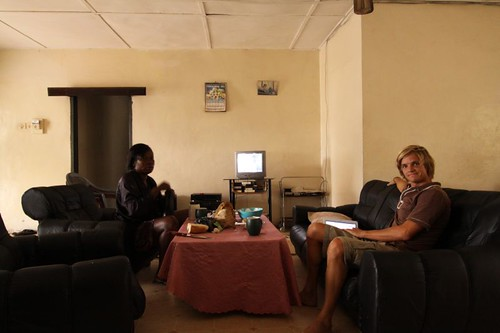 Abigail and Nicolai in Accra, Ghana.
