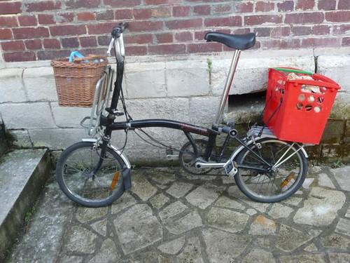 alfine 11 vélo pliant