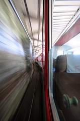 tunnelsurfer (Toni_V) Tags: motion blur train schweiz switzerland movement suisse perspective tunnel sbb zermatt wallis 2009 valais d300 sigma1020mm matterhorngotthardbahn toniv dsc1915