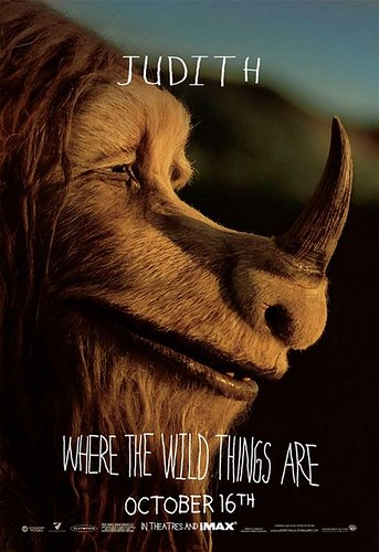Where The Wild Things Are Character Poster Judith