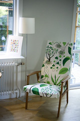 Josef Frank fabric (Craft & Creativity) Tags: house ikea home lamp frank design leaf sweden interior room decoration fabric josef etsy armchair leafs