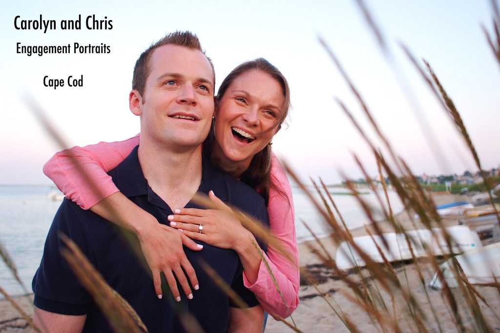 Carolyn Schumacher Chris Donnelly wedding engagement session