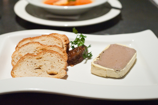 Smooth Chicken Liver Parfait with Pear Chutney
