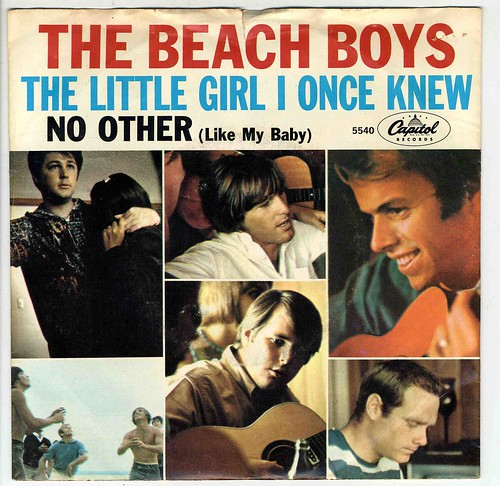 BEACH BOYS THE LITTLE GIRL I ONCE KNEW